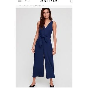 Wilfred Ecoulement V Jumpsuit - Navy